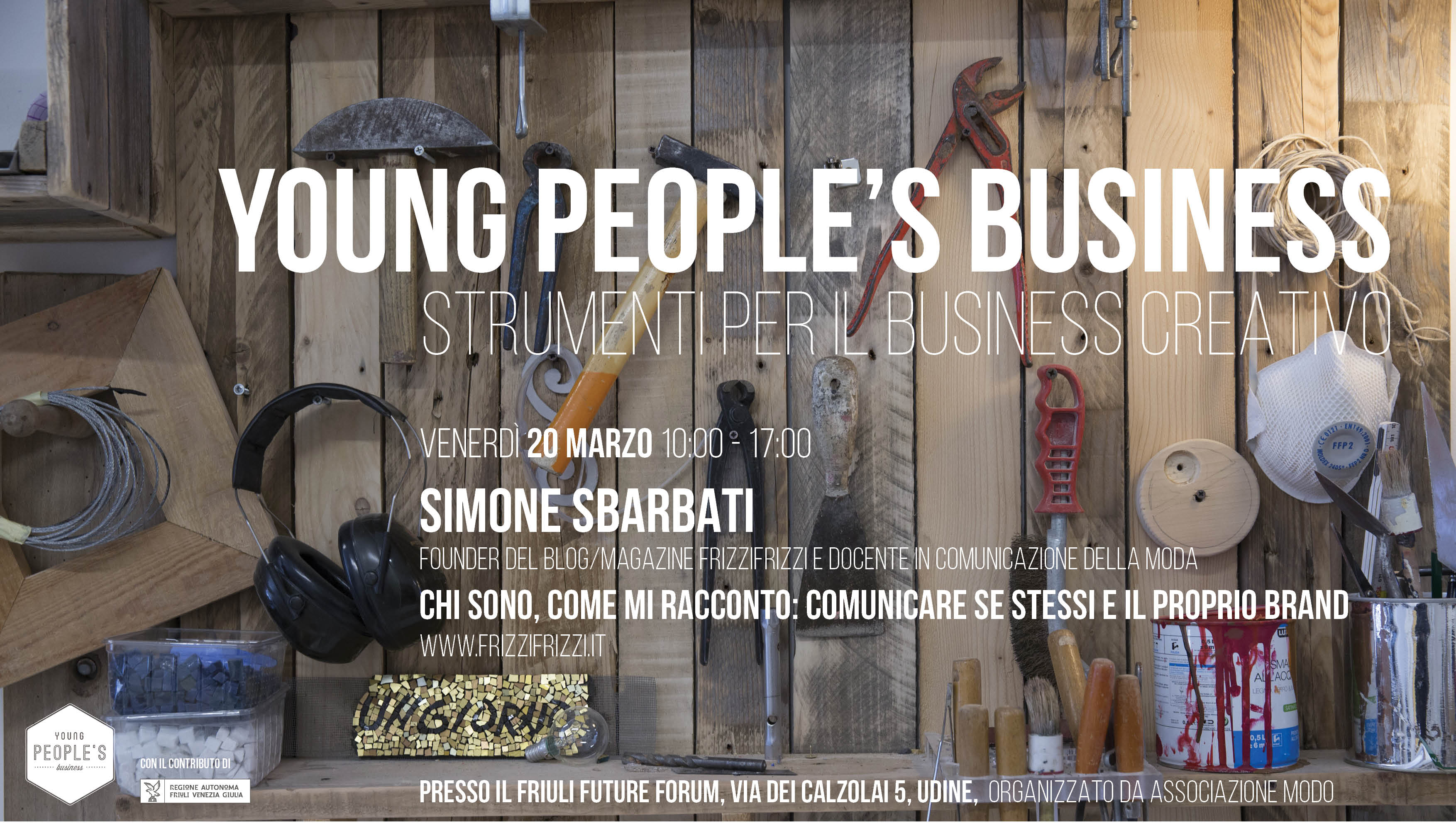 Young people's business 2015 con Simone Sbarbati e Enrica Civello